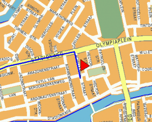 Routebeschrijving Amsterdam 2